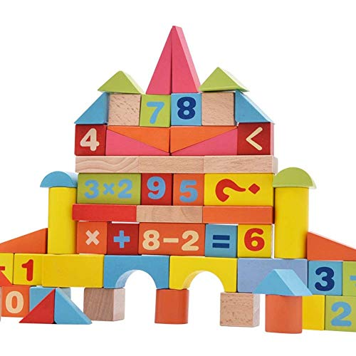 Lowest Prices! Stacking Blocks, Stacking Blocks for 3 Year Olds, Boys Girls Educational Preschool Ar...
