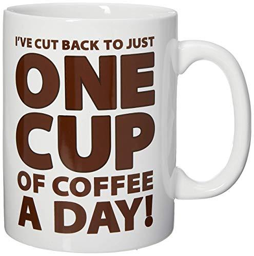 BigMouth Inc Big Mouth Mug One Cup Coffee, Multi-Colour