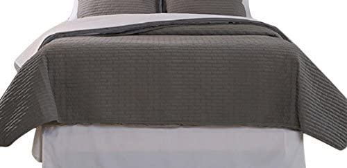 Affluence Home Fashions Max 79% OFF 103449 Luxury Quilted So Coverlet Animer and price revision Twin