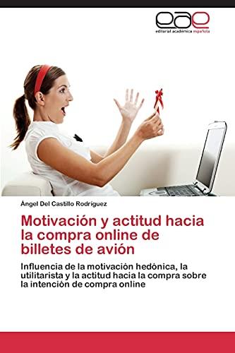 Motivación y actitud hacia la compra online de billetes de avión: Influencia de la motivación hedónica, la utilitarista y la actitud hacia la compra sobre la intención de compra online