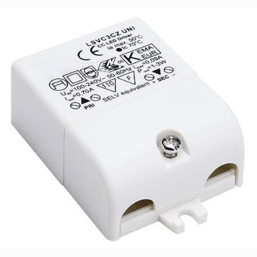 SLV LED Treiber 3 W, 700 mA, inklusiv Zugentlastung 464200