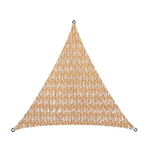 W.Z.H.H.H Schattensegel Triangle Shade Net Encryption Mesh-Anti-UV-Sonnensegel verdicken Encrypted Net Garten Dekoration 3.5M Sonnenschutztuch.