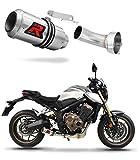 CB 650 R CB650R Escape Moto Deportivo GP Silenciador Dominator Exhaust Racing 2019-2020
