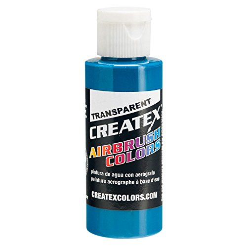 Createx Peinture Turquoise Transparent 60 ml