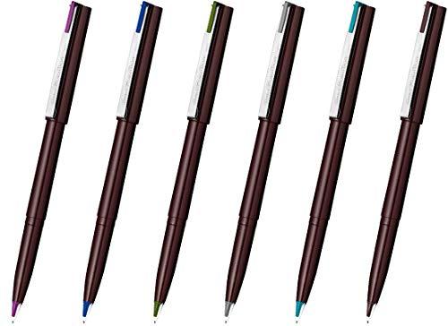 ぺんてる 水性ペン プラマン 限定6色セット