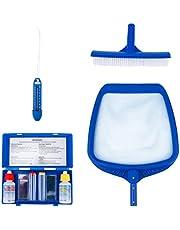 DOITOOL 1 Set Zwembad Onderhoud Kit 4 Stuks Zwembad Cleaning Kit Voor Bovengrondse Zwembad