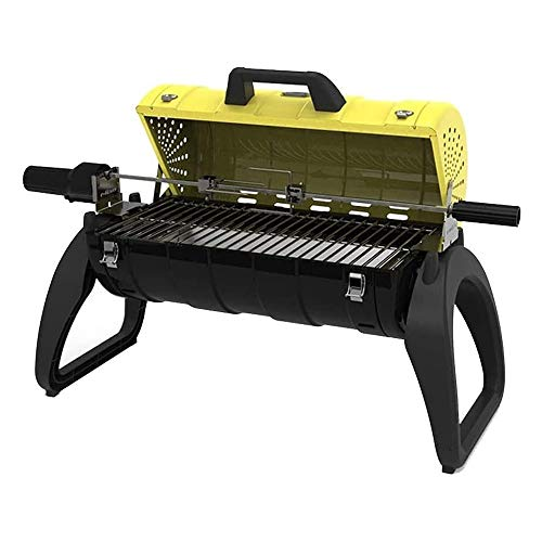 FQCD Portable BBQ,Thick Folding Folding Grill, Outdoor Charcoal Barbecue Grill for Stainless Steel Barbecue Grill for Shish Portable Camping Cooking Small Grill Picnic Garden Terrace Camping Travel,Co