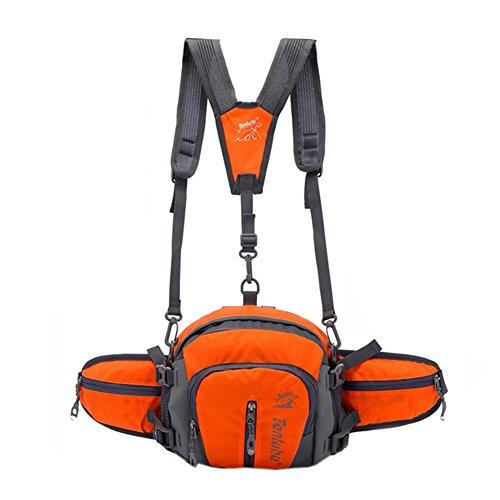 Imperméable/extérieur Lot de taille, unisexe, 8L, Orange (27 * * * * * * * * * * * * * * * * 18 cm)