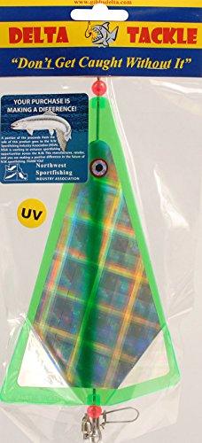 GIBBS-DELTA TACKLE 88857 Inline-Blinker, grün