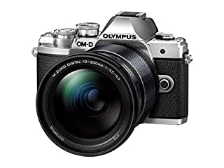 "Olympus Om-D E-M10 Mark III MILC 16,1 MP Live MOS 4/3"" Noir, Argent - Appareils Photos numériques (16,1 MP, 4/3"", Live MOS, 4K Ultra HD, Écran Tactile, Noir, Argent) (B07QYFFGXH) 