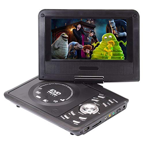 Buy GSPOR Portable DVD Player, Home DVD Disc Player, SD/MS/MMC Reader and USB Port Input, Black