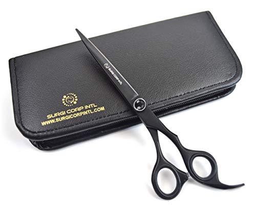 Tijeras profesionales para peluquería de 7 pulgadas, color negro