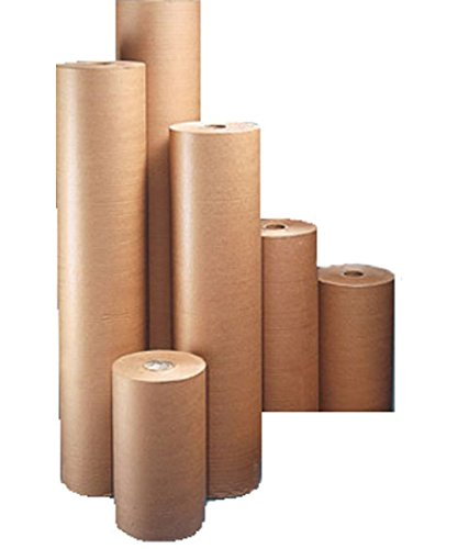 Pro-System K1000 pakpapier voor bekleding en verpakking, 1000 mm, bruin (pak van 17 stuks)