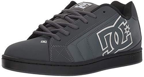 DC Herren NET Skate-Schuh, Grau massiv, 55 EU