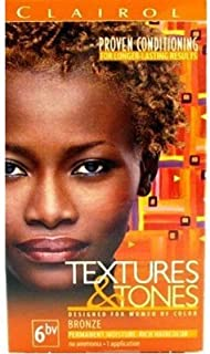 Clairol Text & Tone Kit #6Bv Bronze (3 Pack)