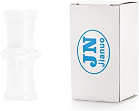 Jianuo Scientic Glass Tube Adapter, 18MM Female to 18MM Female Essential Adapter