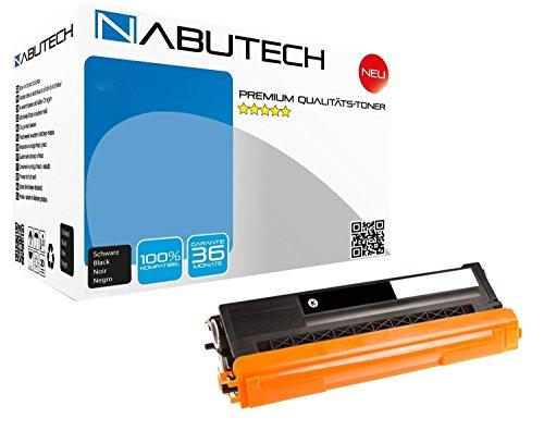 Nabutech toner compatibel met TN-421BK voor Brother DCP-L8410CDW, HL-L8260CDW, HL-L8360CDW, MFC-L8690CDW, MFC-L8900CDW -zwart 3.000 pagina's | getest volgens ISO-norm 19798|