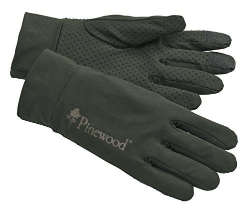 Pinewood 9405 Thin Liner Stretch Handschuh moosgrün (135) M/L