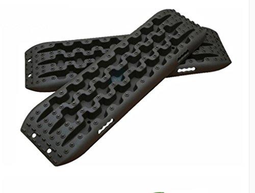 QCY Sandbleche Kunststoff Sandboards Traktionshilfe Anfahrhilfe Sandbord Offroad F/ÜR Bordwagen Offroad Lieferungen,2 St/ück Farbe4
