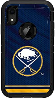 Skinit Decal Skin for OtterBox Defender iPhone XR - Officially Licensed NHL Buffalo Sabres Home Jersey Design