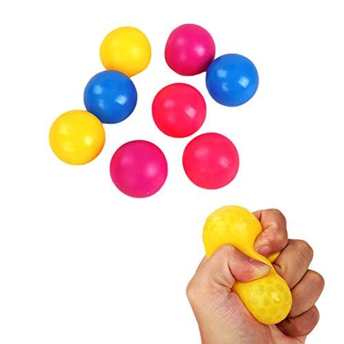 Kids Luminous Stress Relief Ball, Im Dunkeln Leuchten Stretchy Sticky Ball Squeeze Toy, Soft Safe Fun Eltern-Kind Interactive Bouncing Ball Dekompressionsspielzeug Für Kinder Erwachsene