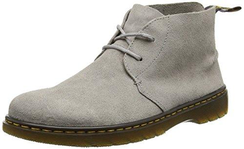 Dr. Martens Herren Ember Biker Boots, Grau (Mid Grey Bronx Suede), 40 EU