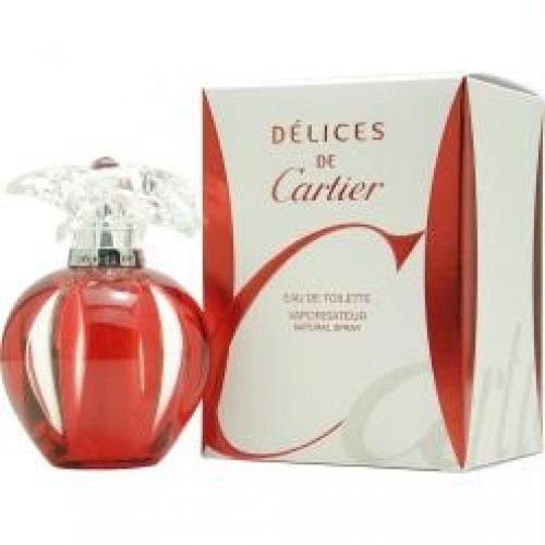 Delices De Cartier By Cartier Eau De Toilette Spray 1 Oz For Women