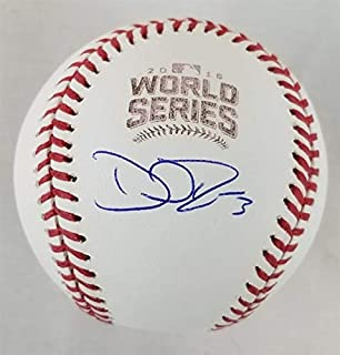 David Ross Chicago Cubs Signed Autograph Official World Series MLB Baseball Steiner Sports Authentic Certified