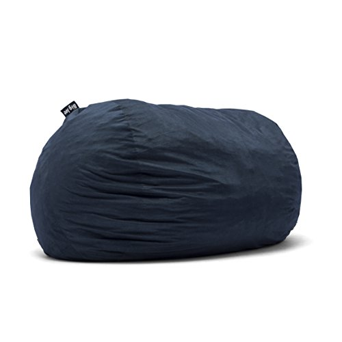 Big Joe Lenox Fuf Foam Filled Bean Bag, Extra Extra Large, Cobalt -