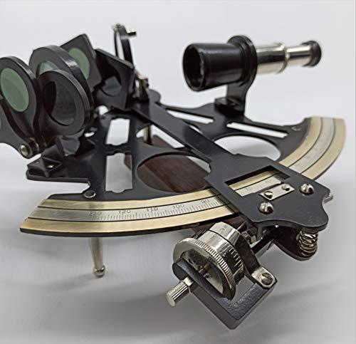 Sextant antik by PEERLESS sextant funktionsfähig| sextant messing| sextant navigation| sextant vintage| real klein nautik deko metall modern marine groß