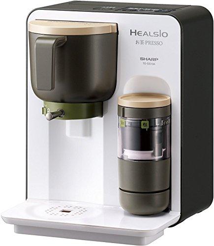 シャープ ヘルシオ(HEALSIO) お茶プレッソ ホワイト TE-GS10A-W