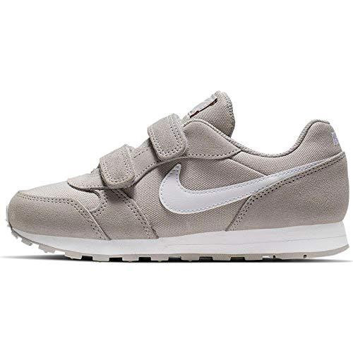 Nike Jungen Md Runner 2 Pe (PSV) Leichtathletikschuhe, Mehrfarbig (Atmosphere Grey/White 000), 33 EU
