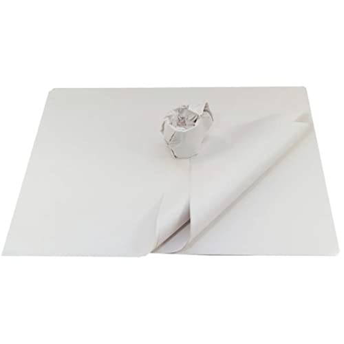 "600 (1 Ream) Large Sheets Of Thick White Packing Wrapping Paper - Size 500 x 750mm 20 x 30"" - Strong Chipshop News Newspaper Offcuts Packaging Mailing Postal Protective Wrap"