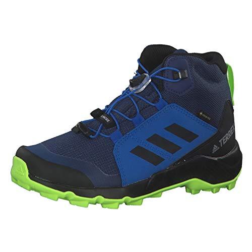 adidas Unisex-Kinder Terrex Mid GTX K Traillaufschuh, Tech Indigo/Core Black/Signal Green, 31 EU