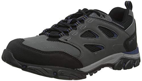 Regatta Holcombe Iep Low' Waterproof Breathable Rubber Toe Double Eyelet Walking Shoes, Chaussure de Marche Homme, 40.5 EU
