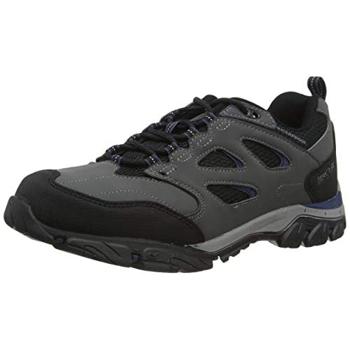 Regatta Men's Holcombe Iep Low' Waterproof Breathable Rubber Toe Double Eyelet Walking Shoes