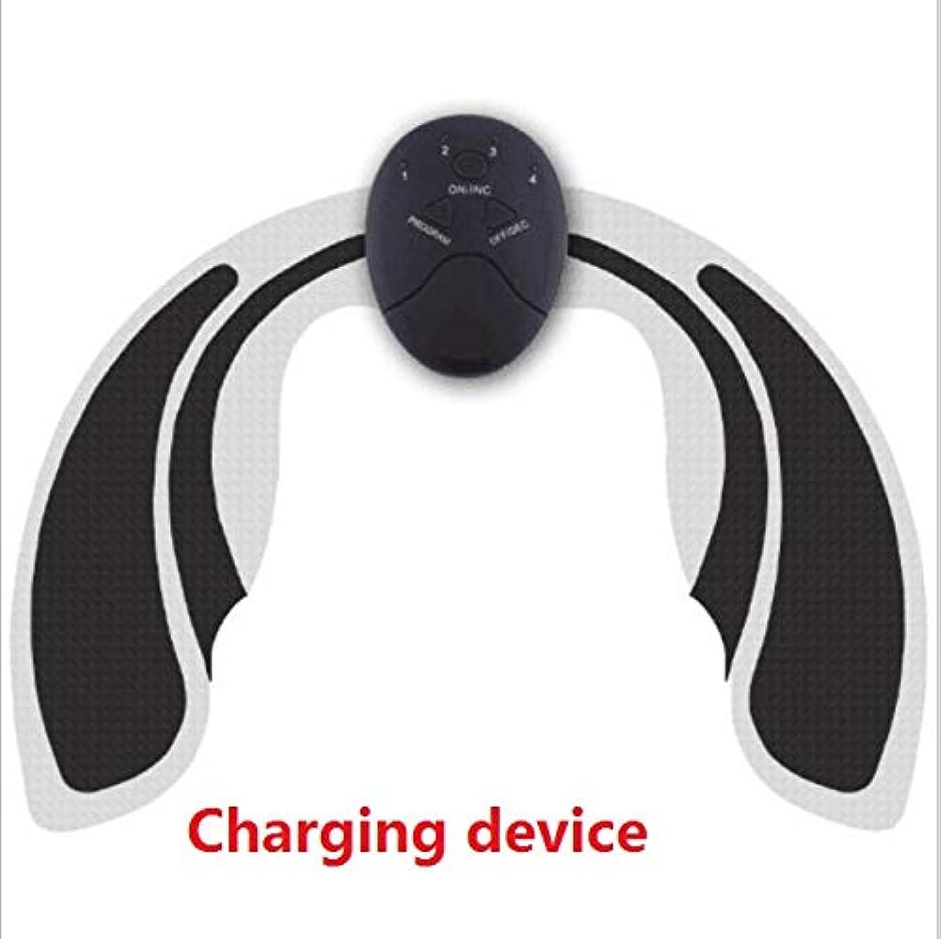 KTYX ユニセックスヒップデバイスFengqi美容ウエストシェイピングボディインストゥルメンツEMSインテリジェントマッサージ機器 マッサージャー (色 : Charging type)