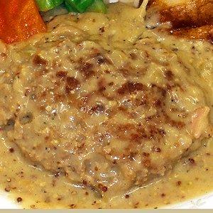 ハンバーグ マスタードdeハンバーグ