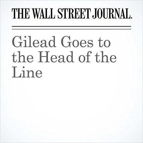 Gilead Goes to the Head of the Line copertina