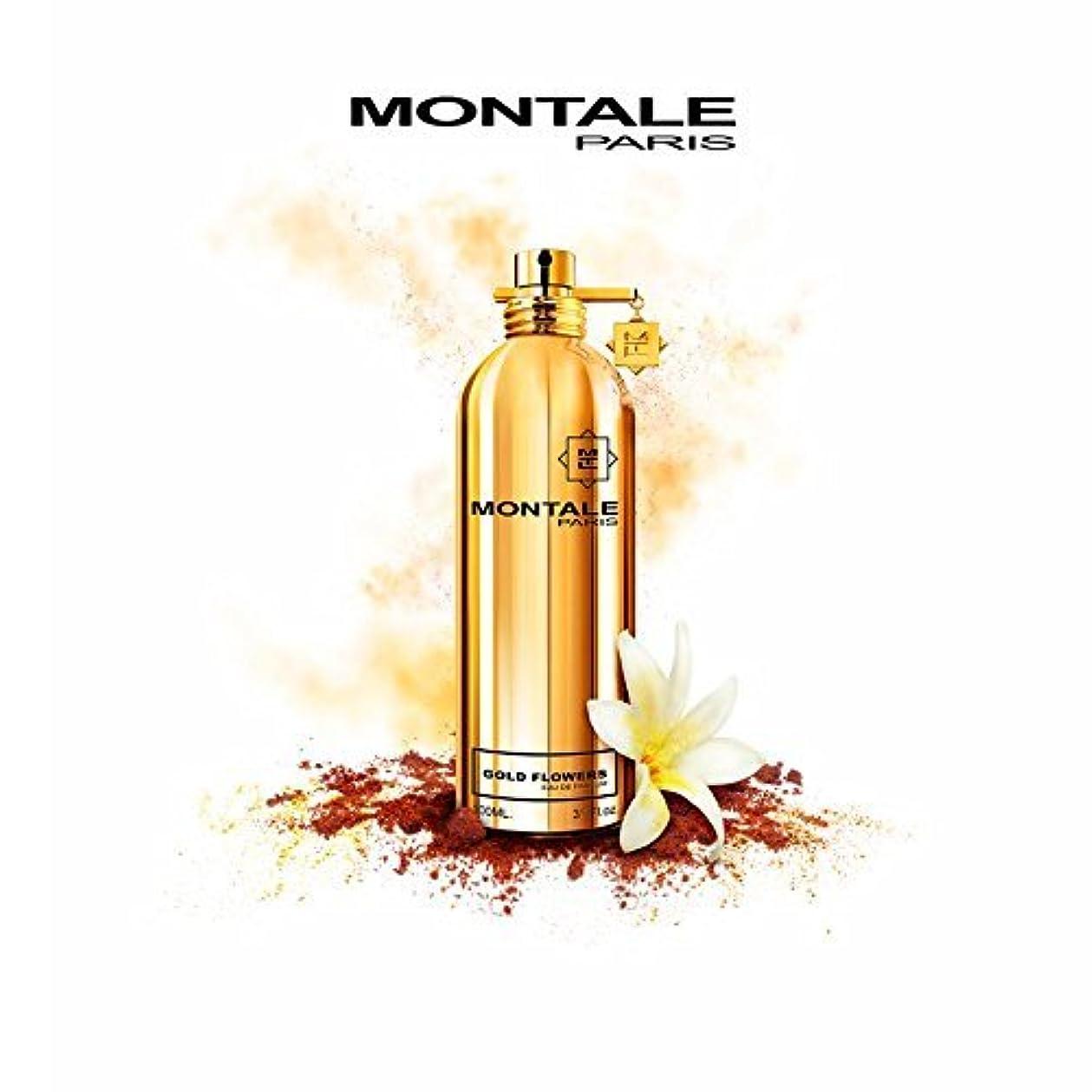 テクスチャー妨げるいつでもMONTALE GOLD FLOWERS Eau de Perfume 100ml Made in France 100% 本物のモンターレ ゴールド花香水 100 ml フランス製 +2サンプル無料! + 30 mlスキンケア無料!
