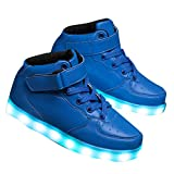 Hopscotch Boys' Blue Sneaker -1 UK