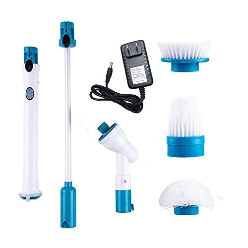 Depurador giratorio, Cepillo de limpieza eléctrica Turbo Scrub Cleaner Automático Rotary Extension...