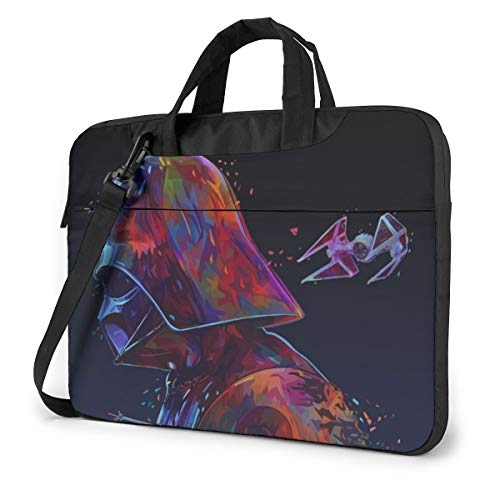Star Wars Darth Vader - Bolsa para ordenador portátil y tableta, portátil, con un hombro, a prueba de golpes, 14 pulgadas