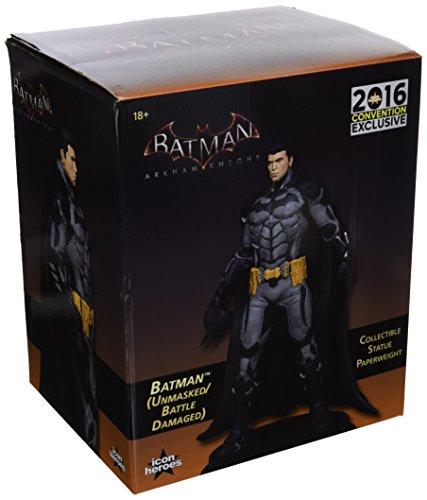 Batman: Arkham Knight Unmasked Batman Statue Paperweight