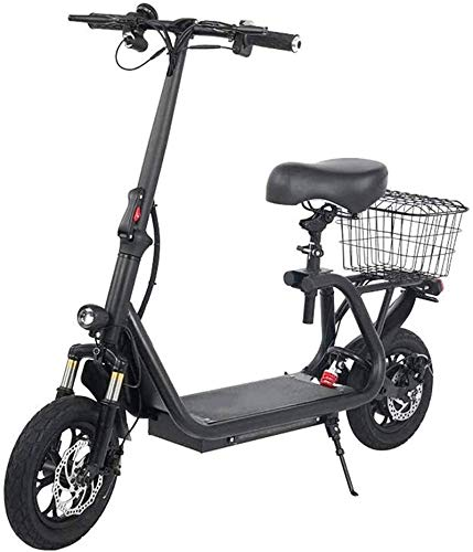 Electric Snow Bike, Fast Electric Bikes for Adults Seat Electric Bike Triple Shock Absorption Max Speed 43KM/H, 45KM Long-Range Two-Wheeled Battery Car with LCD Display Lithium Battery Beach Cruiser f