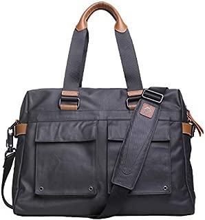 Mens Bag Fashian Vintage Rustic Messenger Bag Laptop Bag Canvas Work Bags For Men High capacity