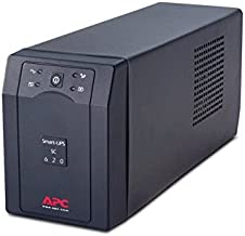 APC SC620I Smart-UPS SC 620VA - UPS - AC 230 V - 390 Watt - 620 VA - RS-232 - output connectors: 4 - gray