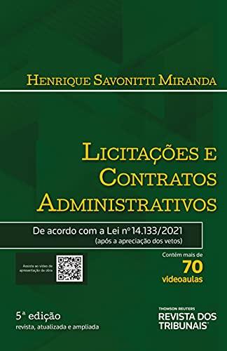 Licitações e Contratos Administrativos 5º Edição