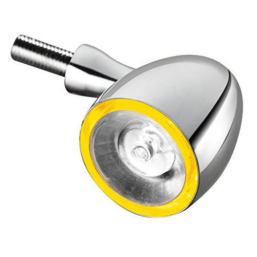 Preisvergleich Produktbild Blinker Kellermann Bullet1000 PL vorne Klares Glas / Chrom