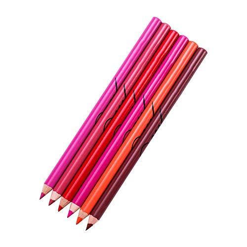 Crayon à lèvres étanche 3 en 1, stylo à lèvres professionnel, stylo eyeliner stylo rouge à lèvres longue durée(7-12)